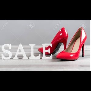 All shoes 20% off.  Bundles apply!  MMAO!!!